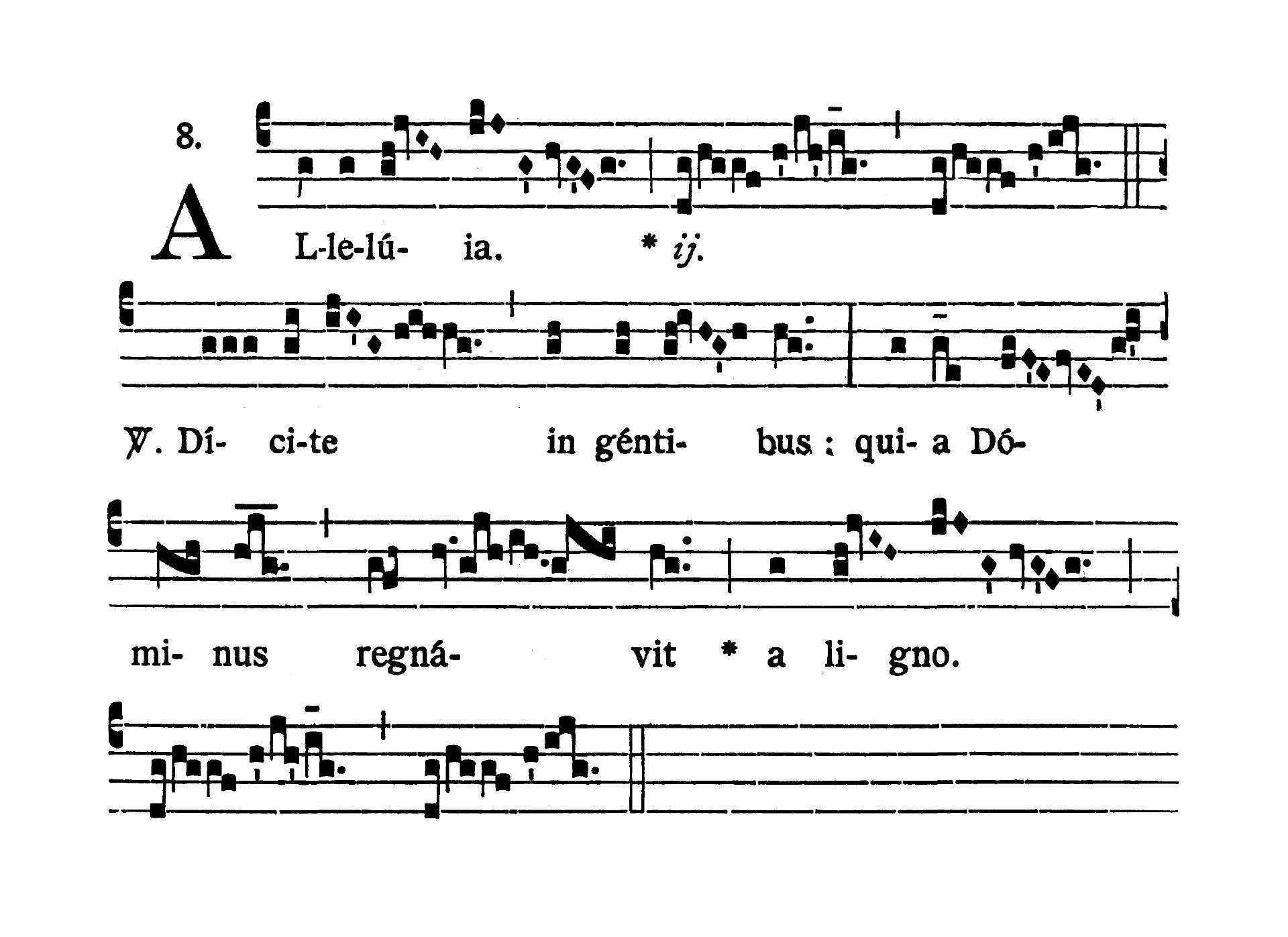 Feria sexta post Pascha (Easter Friday) - Alleluia (Dicite in gentibus)