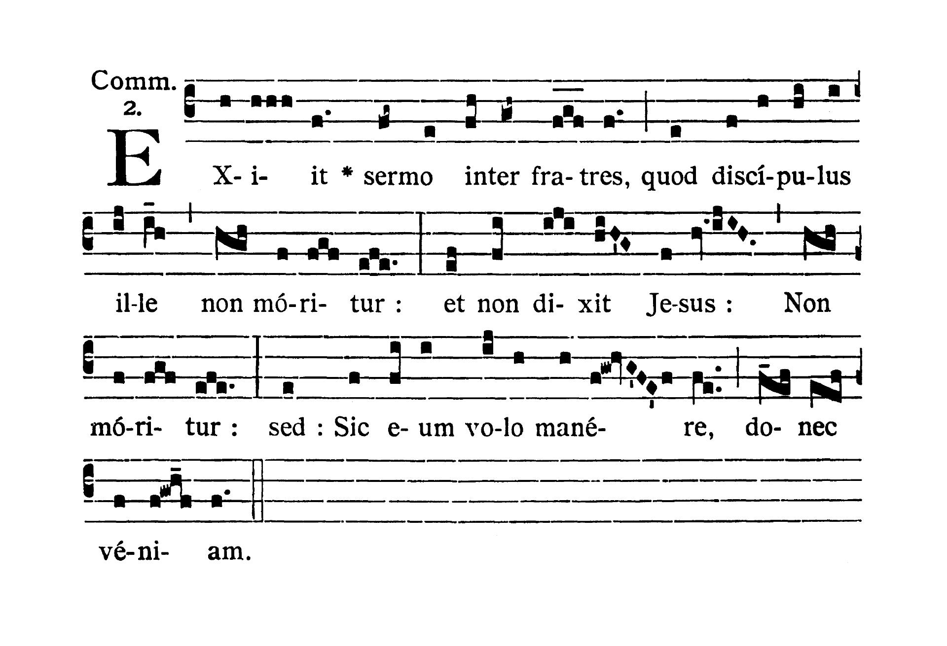 Sancti Joannis Apostoli et Evangelistae (Świętego Jana Apostoła i Ewangelisty)