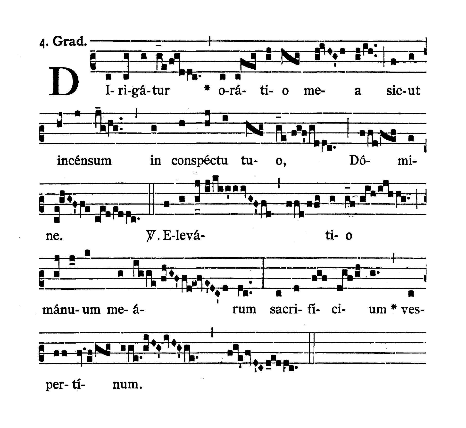 Sabbato Quatuor Temporum Septembris (Sobota suchych dni wrześniowych) - Graduale (Dirigatur)