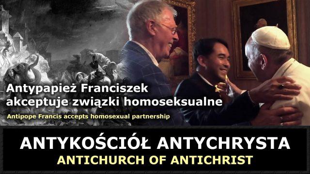 Antypapież Franciszek akceptuje związki homoseksualne
