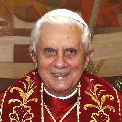 Joseph Alois Ratzinger aka Benedict XVI