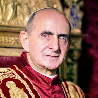 Antypapież Giovanni Battista Enrico Antonio Maria Montini aka Paweł VI