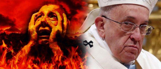 Antypapież Franciszek neguje istnienie piekła