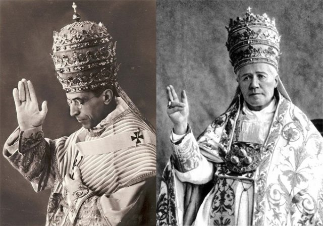 Such were the Catholic popes