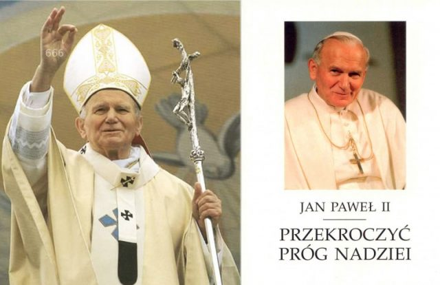 Herezje Antypapieża Jana Pawła II na podstawie jego książki Przekroczyć próg nadziei