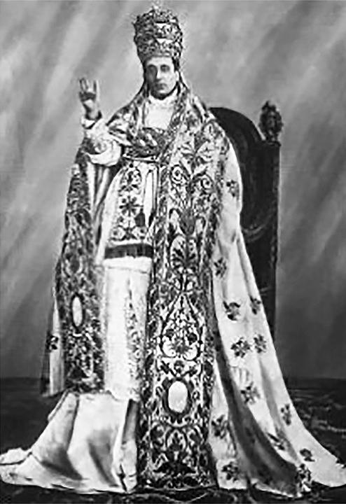 Papież Giacomo della Chiesa aka Benedykt XV