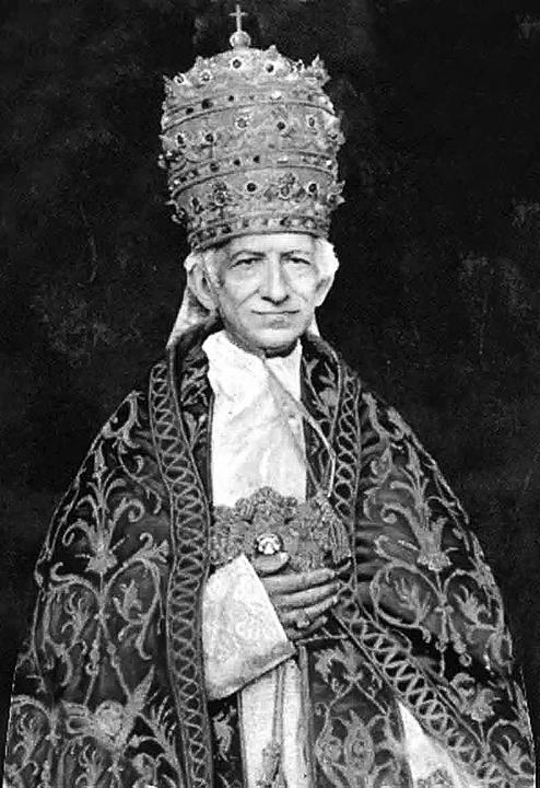 LA NUEVA MISA - Abbé François Egregyi Papieze-leon-xiii