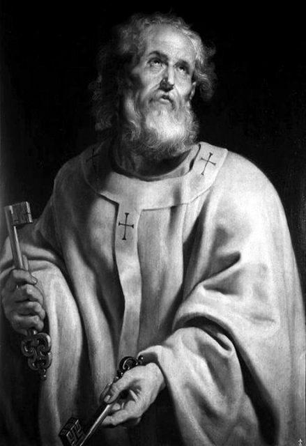 Papież Święty Piotr aka Petrus