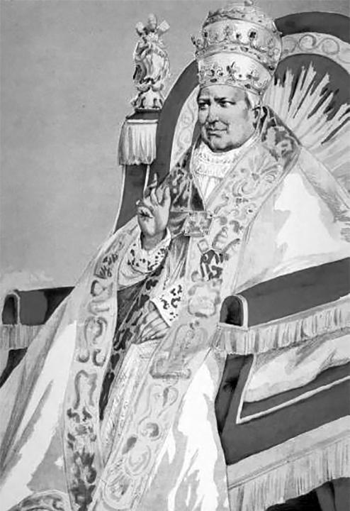 Papież Giovanni Maria Mastai-Ferretti aka Pius IX