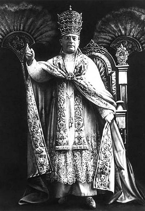 Achille Ambrogio Damiano Ratti aka Pius XI