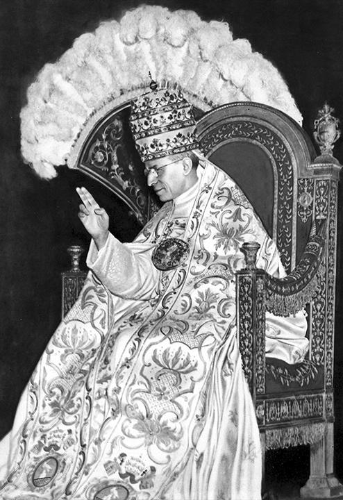 Pope Eugenio Maria Giuseppe Giovanni Pacelli aka Pius XII