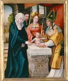 Iesus infans in templo praesentatur