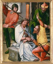 Iesus Christus spinis coronatur