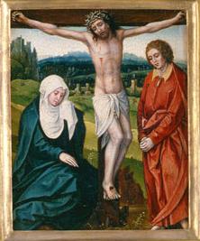 Iesus Christus, cruci affixus, coram Matre sua moritur