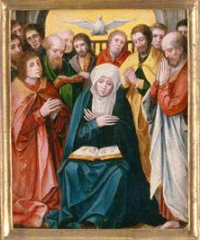 Spiritus Sancti supra beatam Mariam Virginem et discipulos descensus