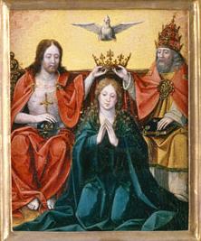 Beatae Mariae Virginus coronatio itemque Angelorum et Sanctorum gloria