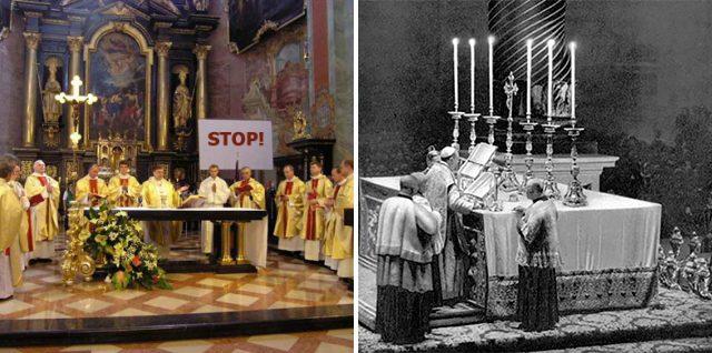 Powody, dla których katolik nie powinien uczęszczać na Nowotwór mszy