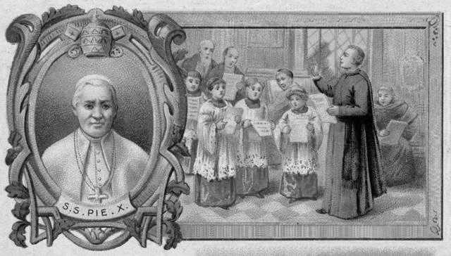 Motu Proprio Tra le sollecitudini - Pius X