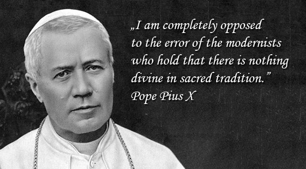 The Oath against modernism - Pius X
