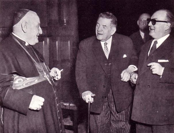 Roncalli with masons