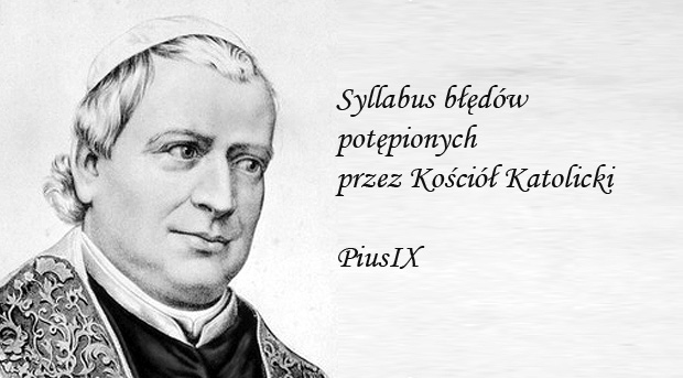 Pius IX - Syllabus błędów