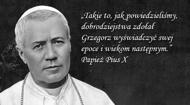 Pius X - Encyklika Iucunda sane