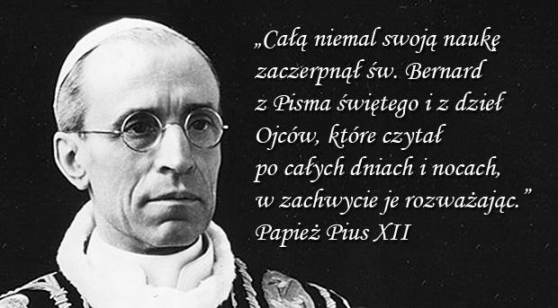 Pius XII - Encyklika Doctor Mellifluus