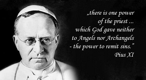 Encyclical Ad Catholici Sacerdotii - Pius XI
