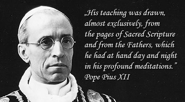 Encyclical Doctor Mellifluus