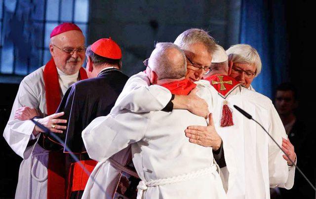 Antypapież Franciszek i Luteranie