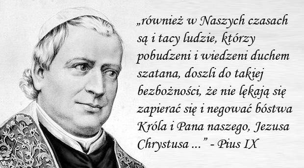 Encyklika Quanta cura - Pius IX
