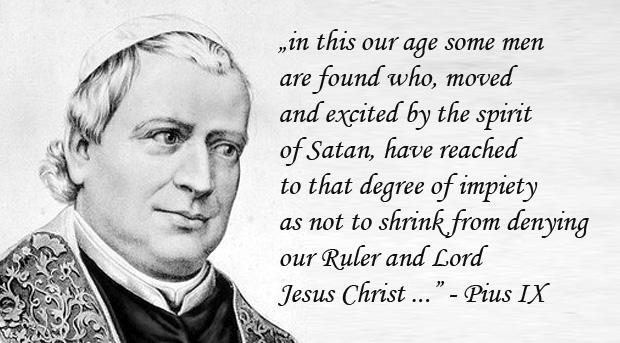 Encyclical Quanta cura - Pius IX