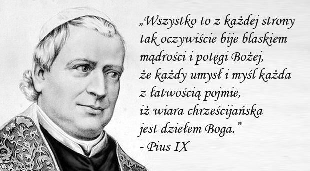 Encyklika Qui pluribus - Pius IX