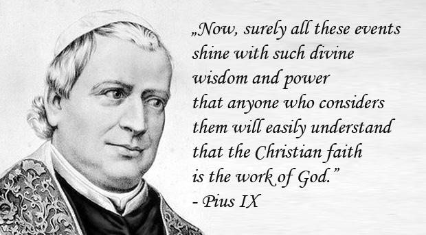 Encyclical Qui pluribus - Pius IX