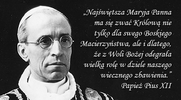 Encyklika Ad Caeli Reginam - Pius XII