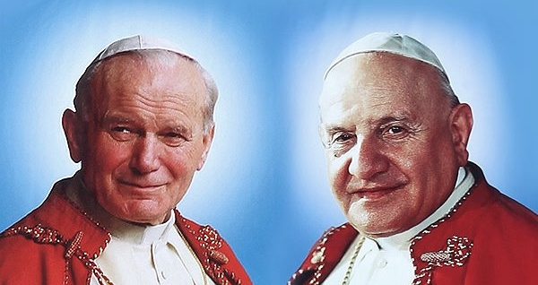 Antipopes John XXIII i John Paul II - pseudo blessed heretics