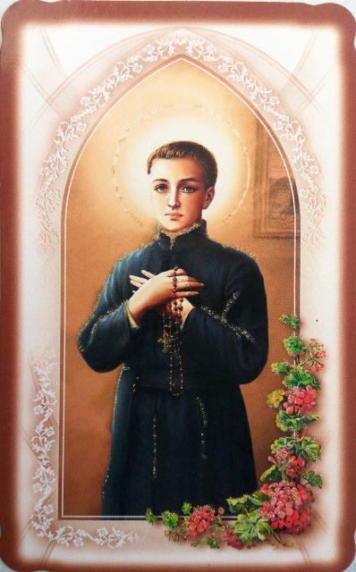 Saint Stanisław Kostka - masonic picture
