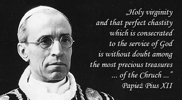 Encyclical Sacra Virginitas - Pius XII