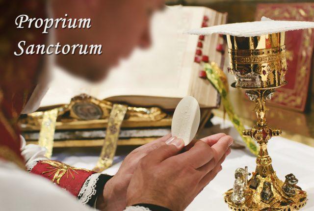 Proprium Sanctorum
