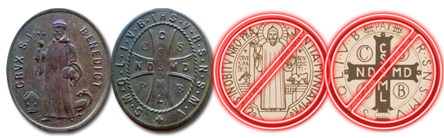 Medal of Saint Benedict - true and false